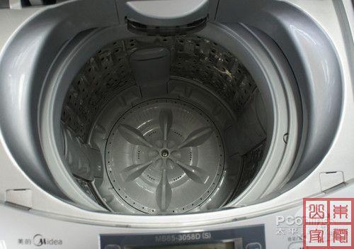 美的半自动洗衣机内部结构图