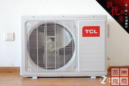 tcl kfrd-35gw/dn13bpa空调室外机配有防护网