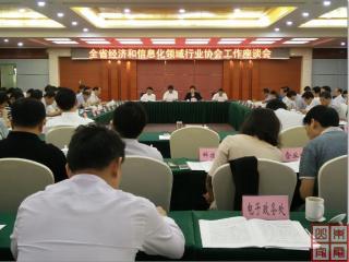 全省经济和信息化领域行业协会